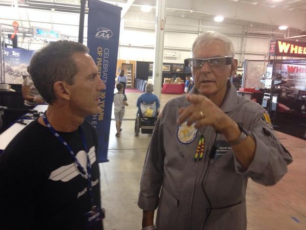 Dick Rutan at Airventure